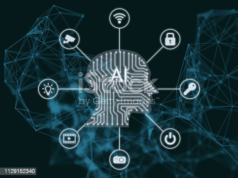 868362844 istock photo AI Artificial intelligence abstract neural network future technology internet of things big data 1129152340