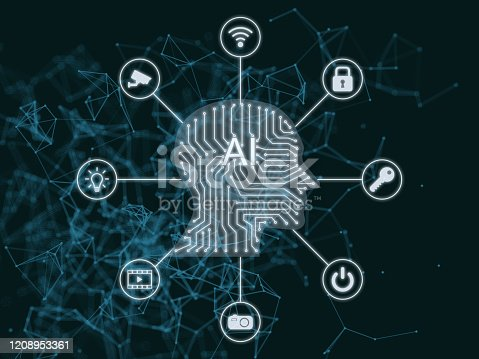 675926042 istock photo AI Artificial intelligence abstract neural network future technology internet of things big data 1208953361