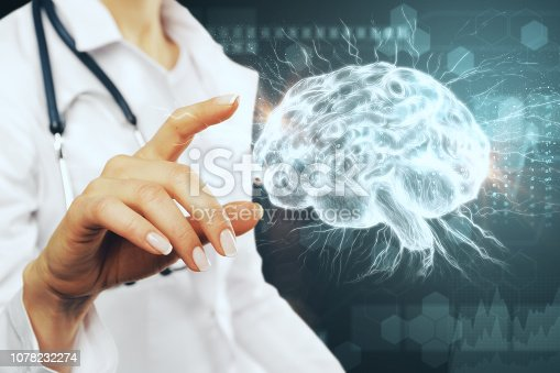 istock Artificial intelligence and medicine concept 1078232274