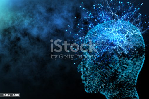 istock Artificial intelligence and network concept 895610098
