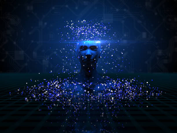 Artificial intelligence, autonomous, technology stock photo