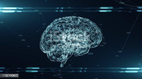 864460734 istock photo AI Artificial intelligence big data deep learning digital brain cloud computing 1132150622