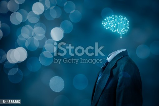 istock Artificial intelligence, brainstorming 644338380