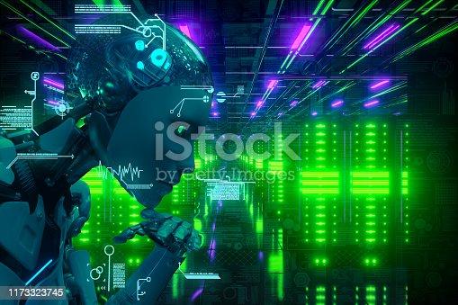 AI city Network Server Technology