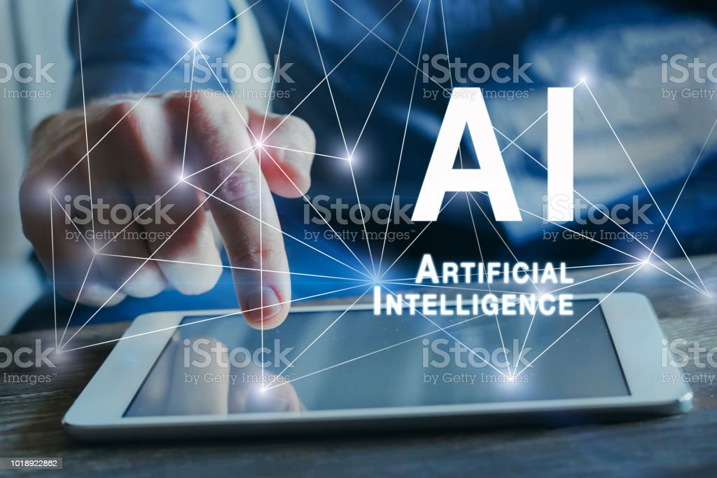 concept de l'intelligence artificielle, IA - Photo
