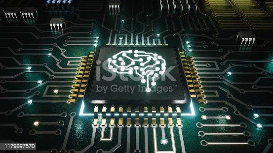 istock AI artificial intelligence concept Central Computer Processors CPU concept 1179697570