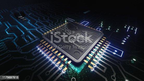 istock AI artificial intelligence concept Central Computer Processors CPU concept 1179697615