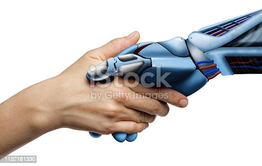 istock Artificial intelligence, concept of future. 1152181330