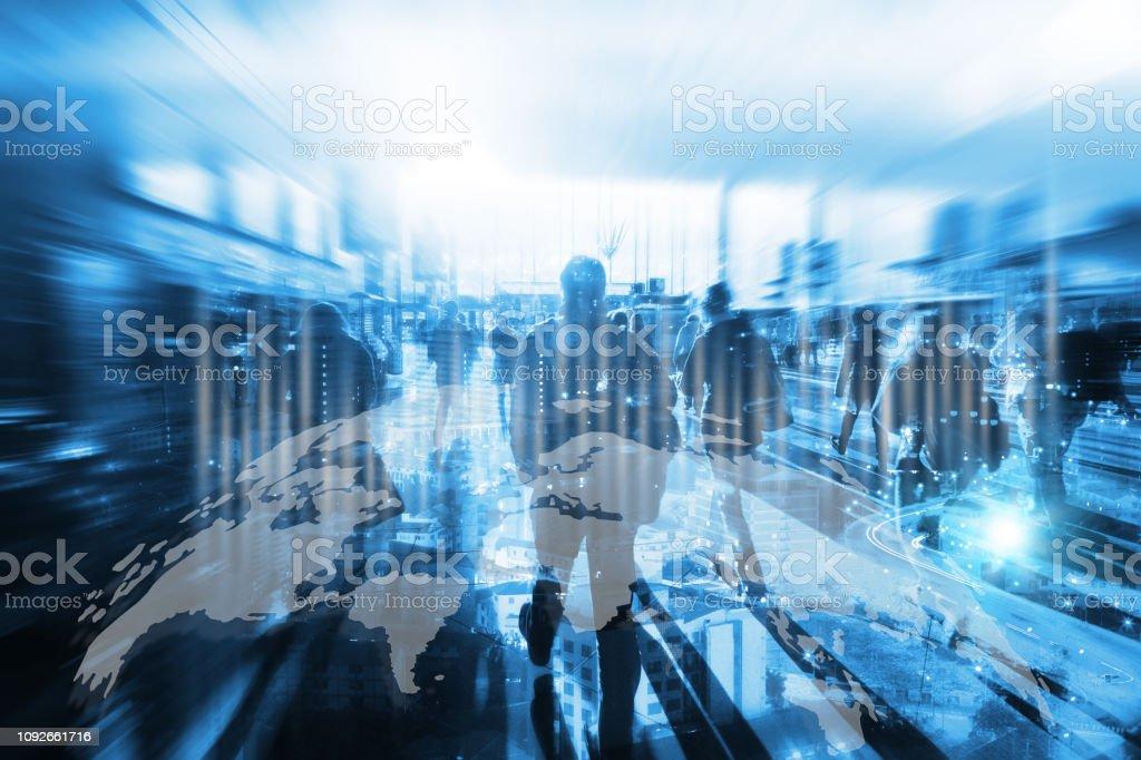 Concept de l'intelligence artificielle. - Photo