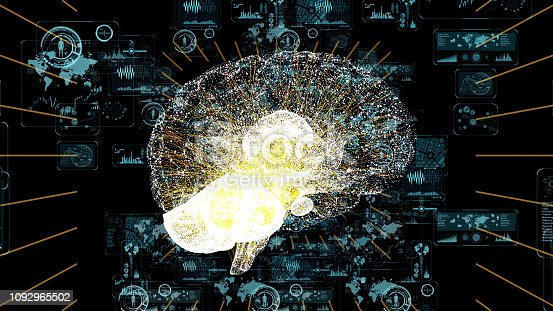 istock AI Artificial Intelligence) concept. 1092965502