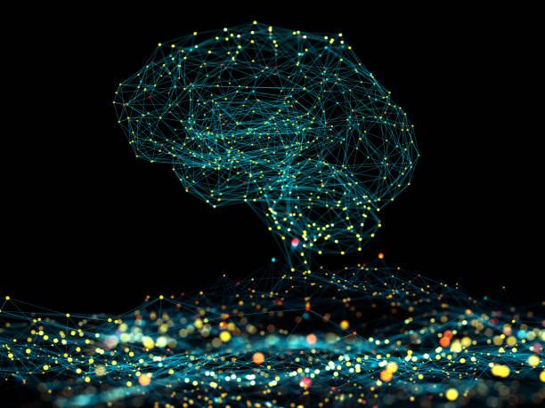 concepto de inteligencia artificial - inteligencia artificial fotografías e imágenes de stock