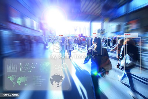 istock Artificial intelligence concept. 852475584