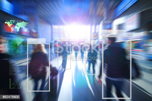 istock Artificial intelligence concept. 852475600