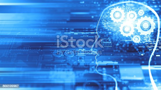 istock Artificial Intelligence concept 866599962