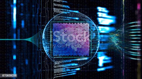 Artificial Intelligence digital concept