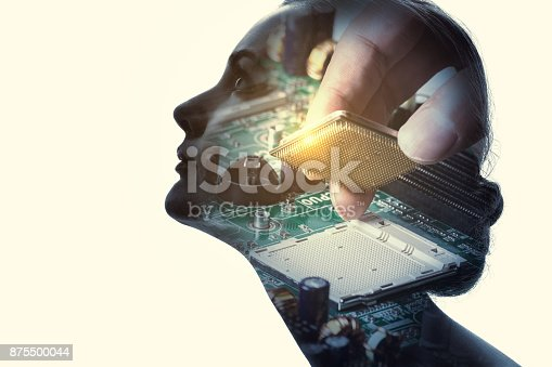 872670454 istock photo Artificial Intelligence concept. 875500044