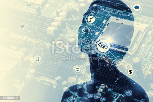 851956174istockphoto Artificial Intelligence concept. 875508492