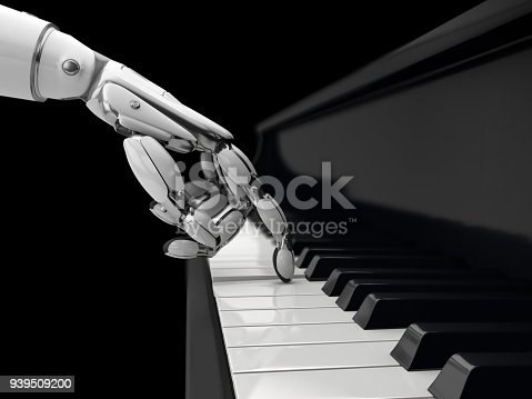 istock Artificial intelligence concept. 939509200