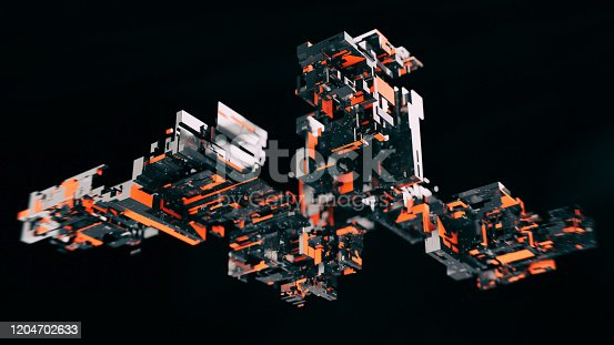 872460930 istock photo Artificial Intelligence CPU blocks 1204702633