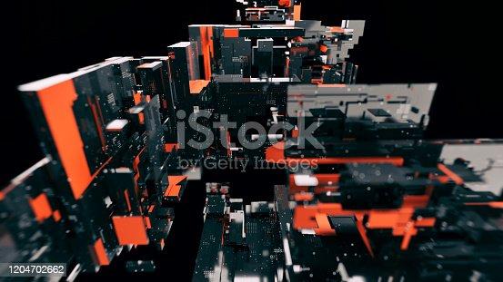 872460930 istock photo Artificial Intelligence CPU blocks 1204702662