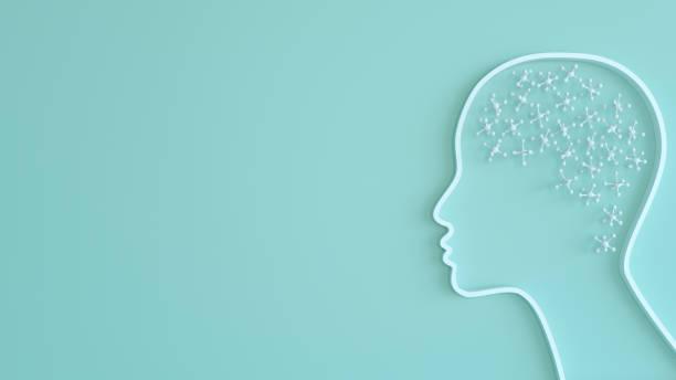 conceito digital da inteligência artificial - brain - fotografias e filmes do acervo