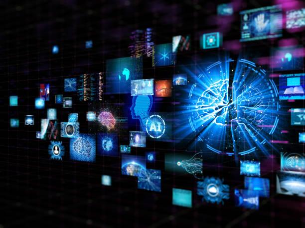 Künstliche Intelligenz digitale Konzept – Foto
