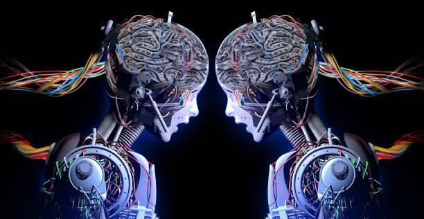 Künstliche Intelligenz Begegnung – Foto