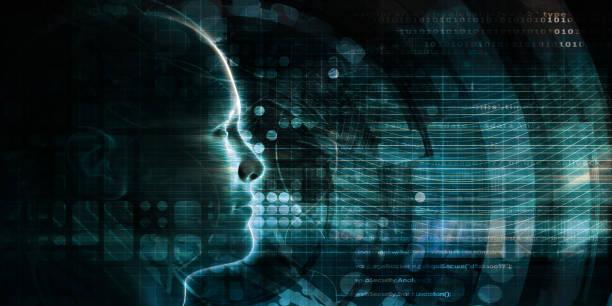 Artificial Intelligence Evolution stock photo