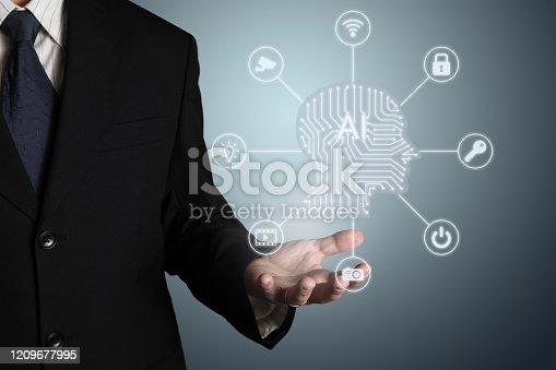 851956174 istock photo AI Artificial intelligence future technology innovation internet 1209677995
