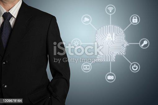 851956174 istock photo AI Artificial intelligence future technology innovation internet 1209678164