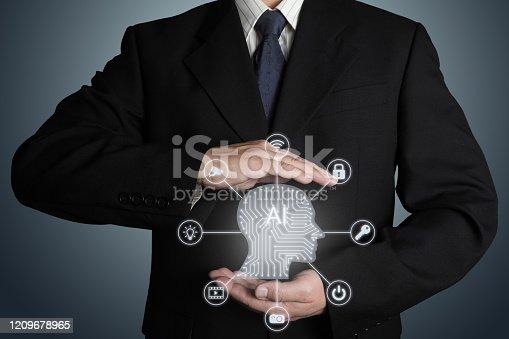 851956174 istock photo AI Artificial intelligence future technology innovation internet 1209678965