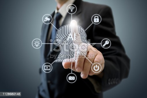 539953610istockphoto AI Artificial intelligence future technology learning innovation internet of things big data 1128680145