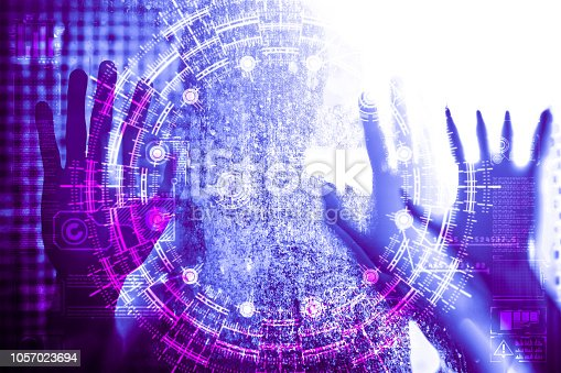 872460930 istock photo Artificial Intelligence human technology 1057023694