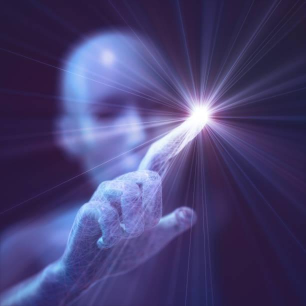 Künstliche Intelligenz humanoiden Leben – Foto