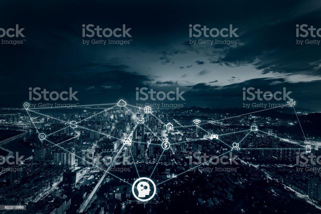 Künstliche Intelligenz im smart-city – Foto