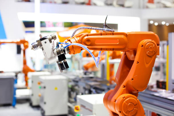 artificial intelligence machine - robotics manufacturing stock photos and pictures