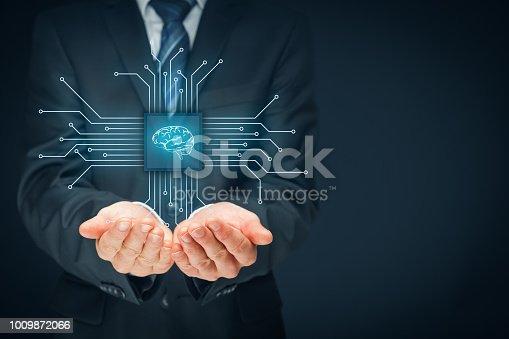 istock Artificial intelligence 1009872066