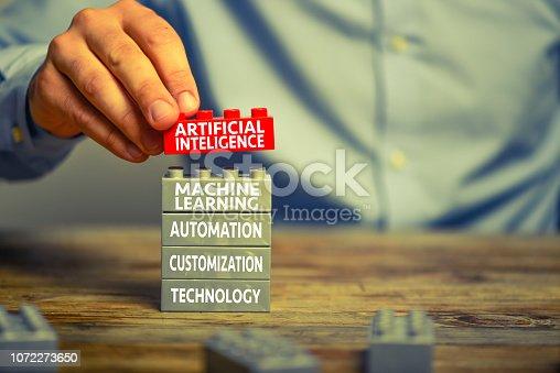 istock Artificial intelligence 1072273650