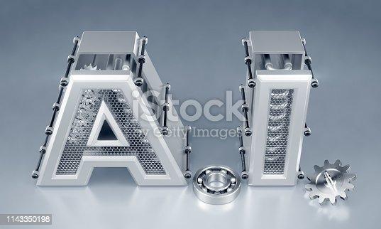 istock Artificial (Machine) Intelligence 1143350198