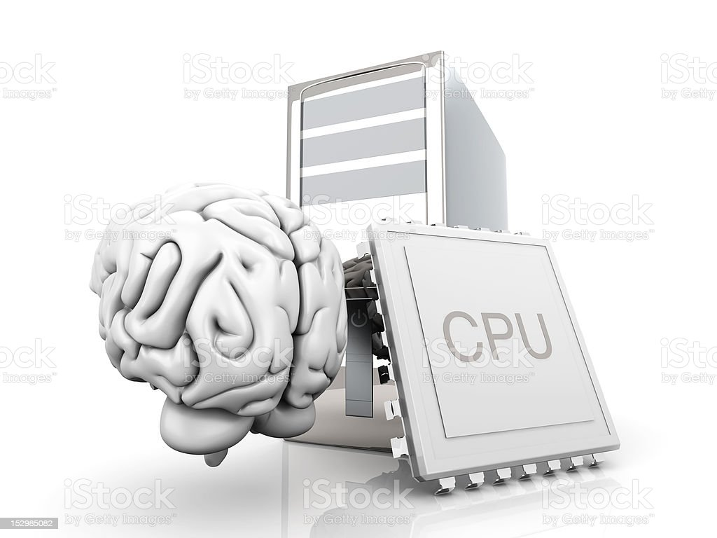 Artificial Intelligence royalty-free stock photo