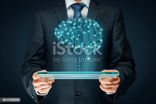 istock Artificial intelligence 644338590