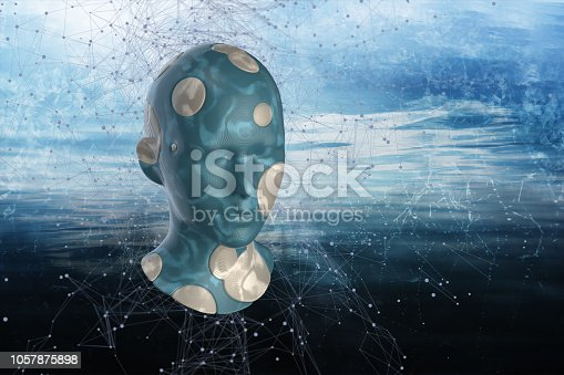 istock Artificial Intelligence, Technology Concept 1057875898