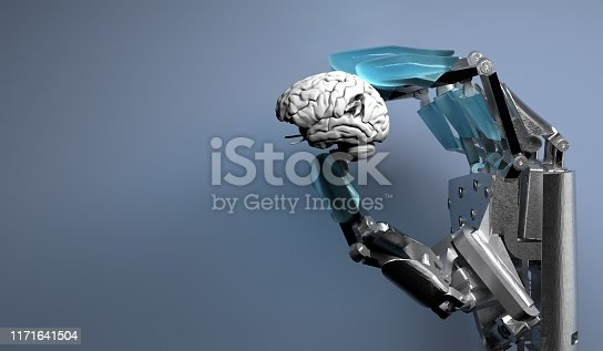 istock Artificial Intelligence Technology 1171641504