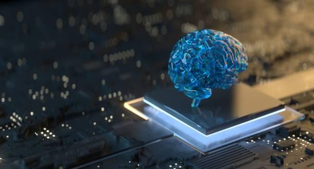 tecnología de inteligencia artificial - inteligencia artificial fotografías e imágenes de stock