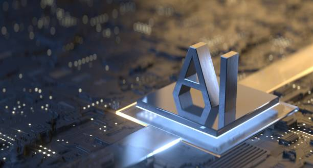 Artificial Intelligence Technology stock photo