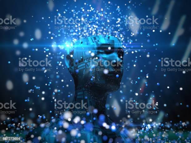Künstliche Intelligenz Technik Stockfoto und mehr Bilder von Automatisiert