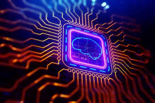Künstliche Intelligenz-Tapete – Foto
