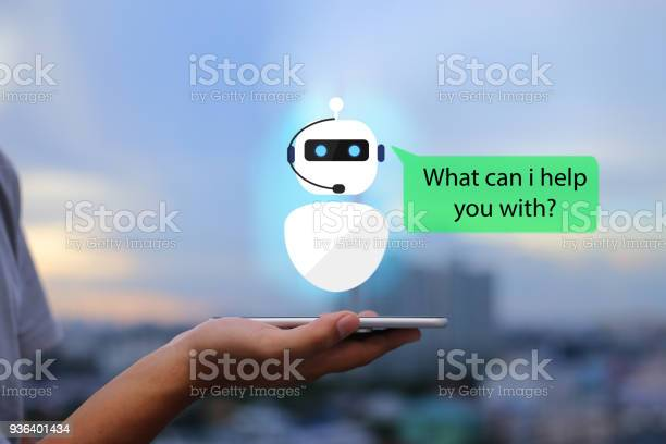 Artificial Intelligenceai Chat Bot Concept Stock Photo - Download Image Now