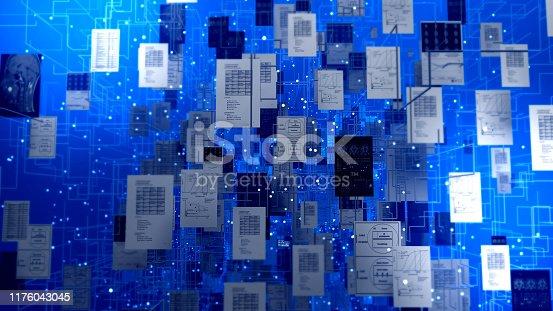 istock Artificial intelligenceor Deep learning 1176043045
