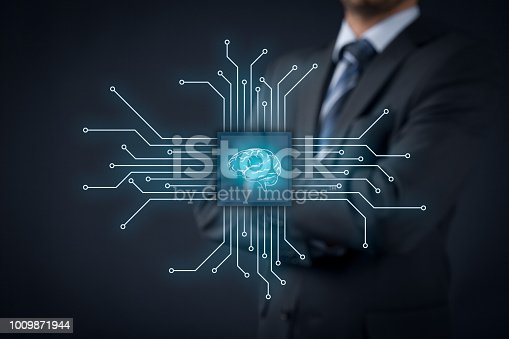 istock Artificial intellingence 1009871944